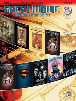 Great Movie Instrumental Solos for Strings (AL-00-26252)