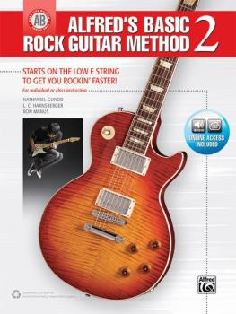 Alfred's Basic Rock Guitar Method 2: The Most Popular Series for Learn (AL-00-45054)
