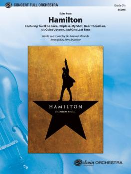 <i>Hamilton</i>, Suite from (Featuring: You'll Be Back / Helpless / My (AL-00-45858S)