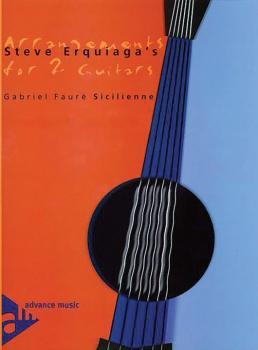 Steve Erquiaga's Arrangements for 2 Guitars: Sicilienne (AL-01-ADV10303)