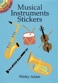 Musical Instruments Stickers (AL-06-40739X)