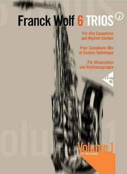 6 Trios, Volume 1 (For Alto Saxophones and Rhythm Section) (AL-01-ADV7701)