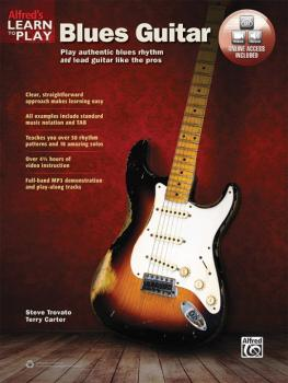 Alfred's Learn to Play Blues Guitar: Play Authentic Blues Rhythm and L (AL-00-45931)