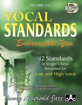 """Jamey Aebersold Jazz, Volume 113: Vocal Standards """"Embraceable You"""": 1 (AL-24-V113DS)"""