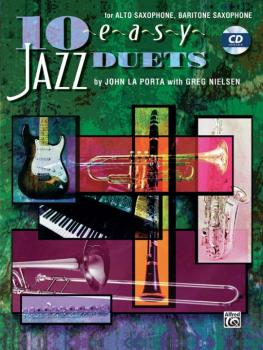 10 Easy Jazz Duets (AL-00-SB297CD)