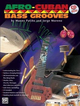 Afro-Cuban Bass Grooves (AL-00-EL9707CD)