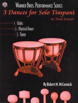 3 Dances for Solo Timpani (To Neil Grover) (AL-00-0459B)