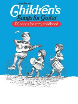 Children's Songs for Guitar: 100 Songs for Early Childhood (AL-00-EL03052)