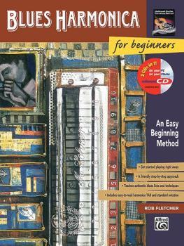Blues Harmonica for Beginners: An Easy Beginning Method (AL-00-17897)