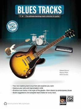 Blues Tracks: The Ultimate Backing Track Collection for Guitar (AL-00-38888)