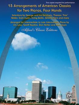 15 Arrangements of American Classics for Two Pianos, Four Hands: Selec (AL-00-32432)