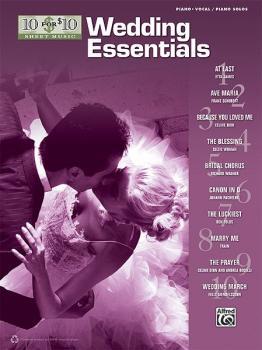 10 for 10 Sheet Music: Wedding Essentials (AL-00-37268)