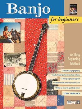 Banjo for Beginners: An Easy Beginning Method (AL-00-22912)