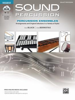 Sound Percussion Ensembles: Arrangements and Original Selections in a  (AL-00-48265)
