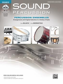 Sound Percussion Ensembles: Arrangements and Original Selections in a  (AL-00-48264)
