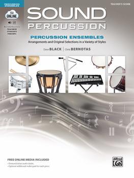 Sound Percussion Ensembles: Arrangements and Original Selections in a  (AL-00-48263)