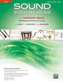 Sound Sight-Reading for Concert Band, Book 1: Music-Reading and Perfor (AL-00-48578)