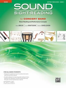 Sound Sight-Reading for Concert Band, Book 1: Music-Reading and Perfor (AL-00-48576)