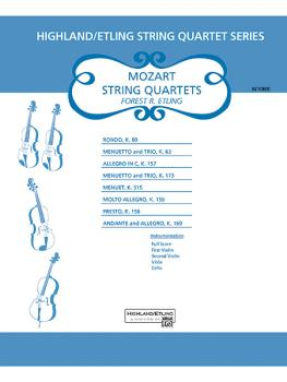 Mozart String Quartets (AL-00-12618S)
