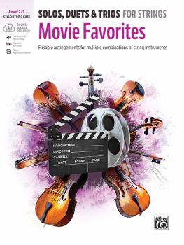 Solos, Duets & Trios for Strings: Movie Favorites: Flexible Arrangemen (AL-00-48278)