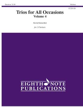 Trios for All Occasions, Volume 4 (AL-81-CC220126)