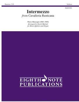 Intermezzo (from <i>Cavalleria Rusticana</i>) (AL-81-BQ220503)