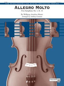 Allegro Molto (From <i>Symphony No. 1</i>, K. 16) (AL-00-48089S)