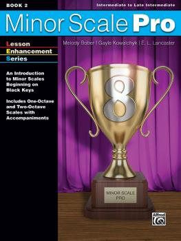 Minor Scale Pro, Book 2: An Introduction to Minor Scales Beginning on  (AL-00-48643)