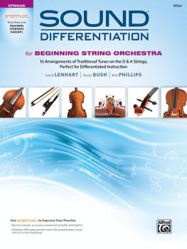 Sound Differentiation for Beginning String Orchestra: 15 Arrangements  (AL-00-48705)