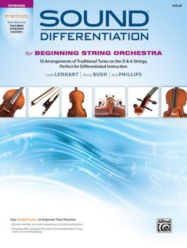 Sound Differentiation for Beginning String Orchestra: 15 Arrangements  (AL-00-48704)