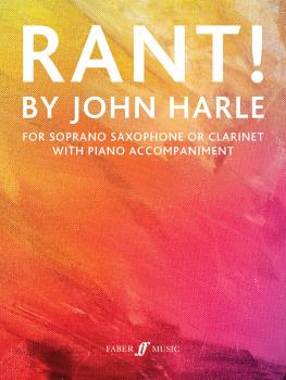 Rant! (For Soprano Saxophone or Clarinet with Piano Accompaniment) (AL-12-0571541348)