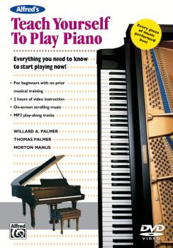Alfred's Teach Yourself to Play Piano: Everything You Need to Know to  (AL-00-22622)