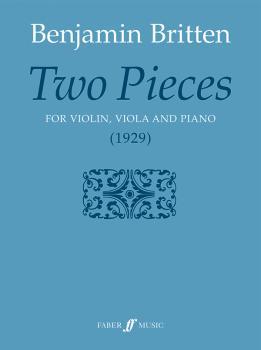 Two Pieces (For Violin, Viola, and Piano) (AL-12-0571523617)