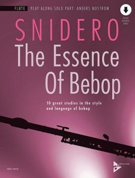 The Essence of Bebop: Flute: 10 Great Studies in the Style and Languag (AL-01-ADV14114)