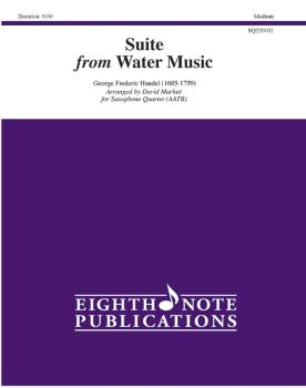 Suite from <i>Water Music</i> (AL-81-SQ220102)