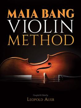 Maia Bang Violin Method (AL-06-834077)