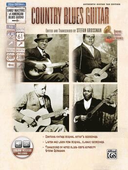 Stefan Grossman's Early Masters of American Blues Guitar: Country Blue (AL-00-25983)