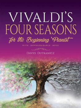 Vivaldi's Four Seasons for the Beginning Pianist (With Downloadable MP (AL-06-842924)