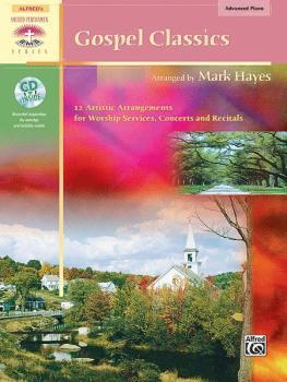 Gospel Classics: 12 Artistic Arrangements for Worship Services, Concer (AL-00-21375)