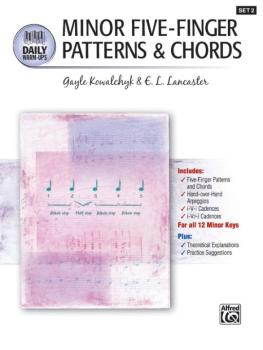 Daily Warm-Ups, Set 2: Minor Five-Finger Patterns & Chords (AL-00-22374)