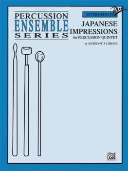 Japanese Impressions (For Percussion Quintet) (AL-00-0113B)
