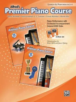 Premier Piano Course, GM Disk 4 for Lesson and Performance (AL-00-30204)