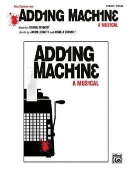Adding Machine -- A Musical: Vocal Selections (AL-00-32158)